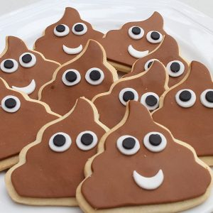 Cookie Poop Emoji Cutter