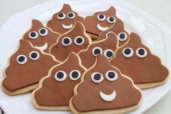 Cookie Poop Emoji Cutter