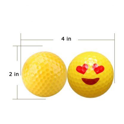 Emoji Golf Ball Size