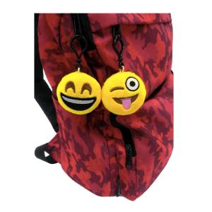 Emoji Keychain Backpack