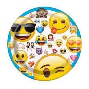 Emoji Paper Plate