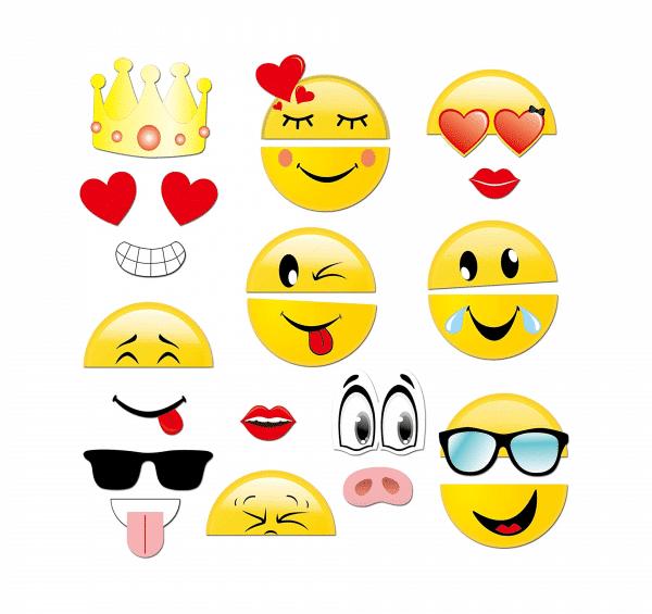 Emoji Photo Props Set