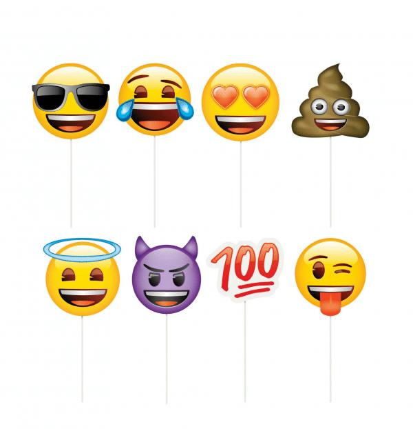 Emoji Photo Set Props