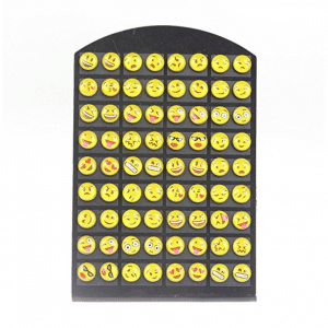 Emoji Set of Stud Earrings