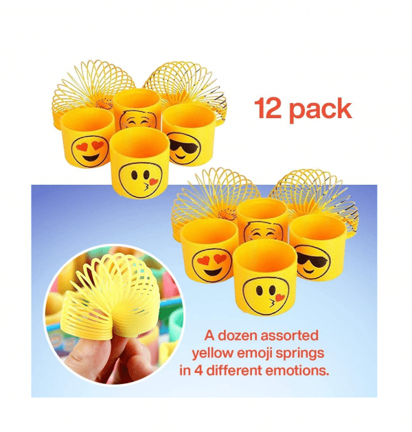 Emoji Slinkies Set Features