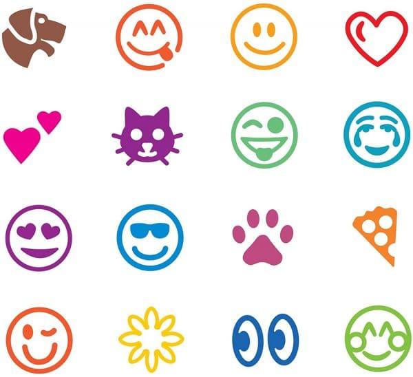 Emoji Stamp Designs