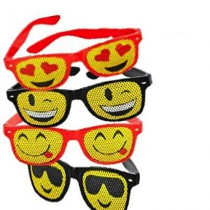 Emoji Sunglasses Set