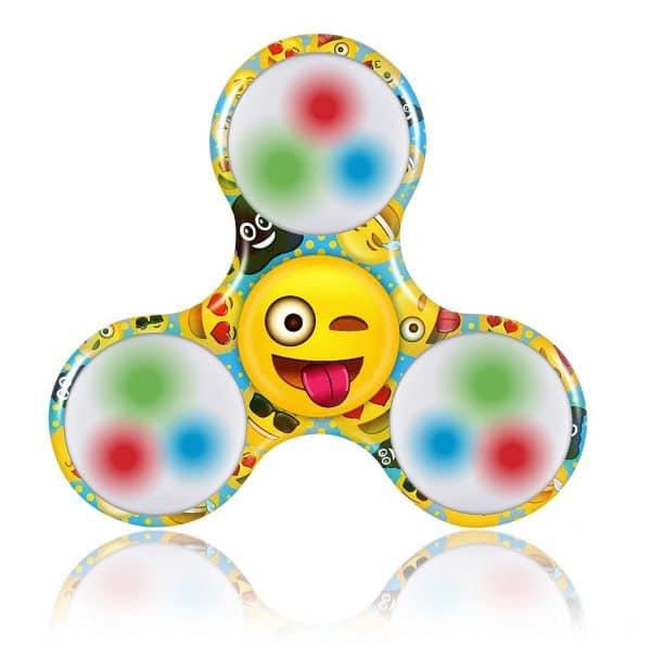 Emoji Tri Spinner Fidget Toy