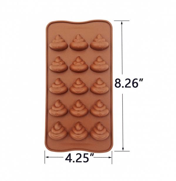 Poop Emoji Baking Mold Candy