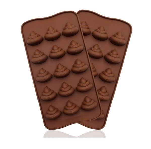 Poop Emoji Baking Mold Set