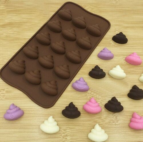 Poop Emoji Baking Mold