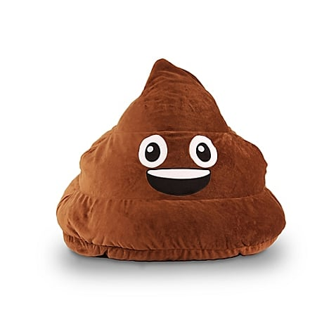 Poop Emoji Bean Bag