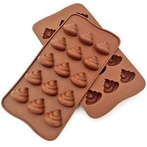 Poop Emoji Chocolate Mold