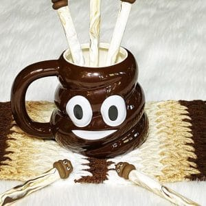 Poop Emoji Designed Ceramic Mug