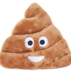 Poop Emoji Squeaky Dog Toy