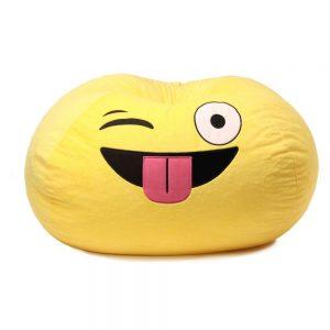 Silly Emoji Bean Bag