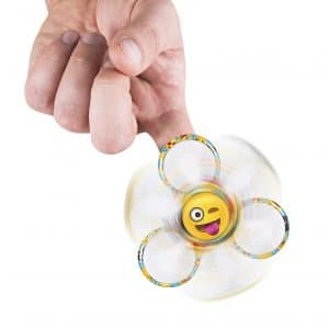 Tri Spinner Emoji Toy