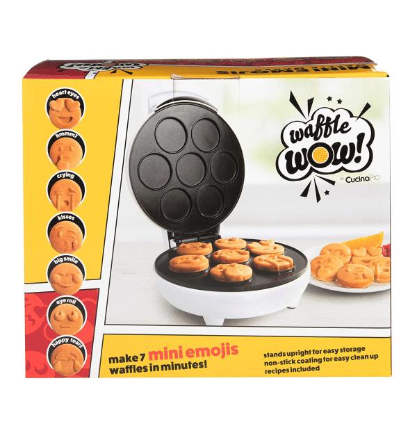 Mini Waffle Maker Emoji