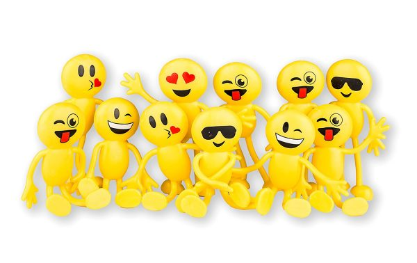 Bendable Emoji Party Toys