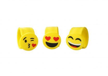 Emoji Slap Bracelet Party Favor