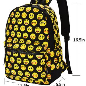 Emoji Backpack Sizes