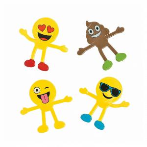 Emoji Bendable Toys Set