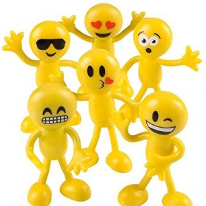 Emoji Bendable Party Favors