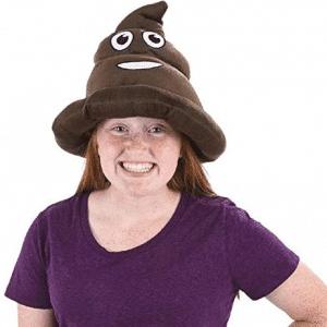 Emoji Poop Hat On Girl