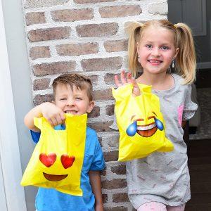 Emoji Printed Goodie Bags