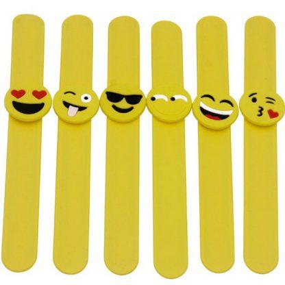 Emoji Slap Band Bracelets