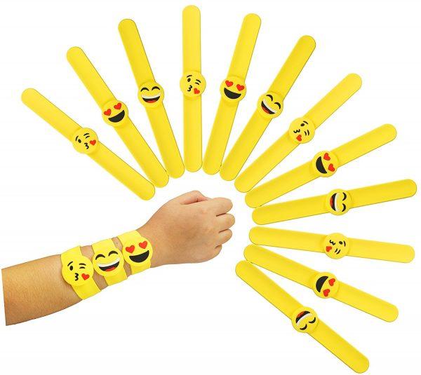 Emoji Slap Bracelets