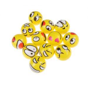 Emoji Stess Balls 12 Pack