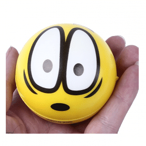 Emoji Stress Balls Yellow Squish