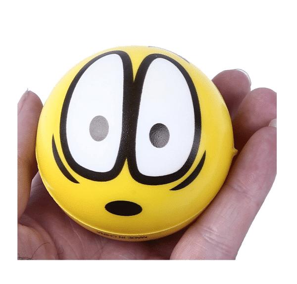 Emoji Stress Balls Yellow Squish