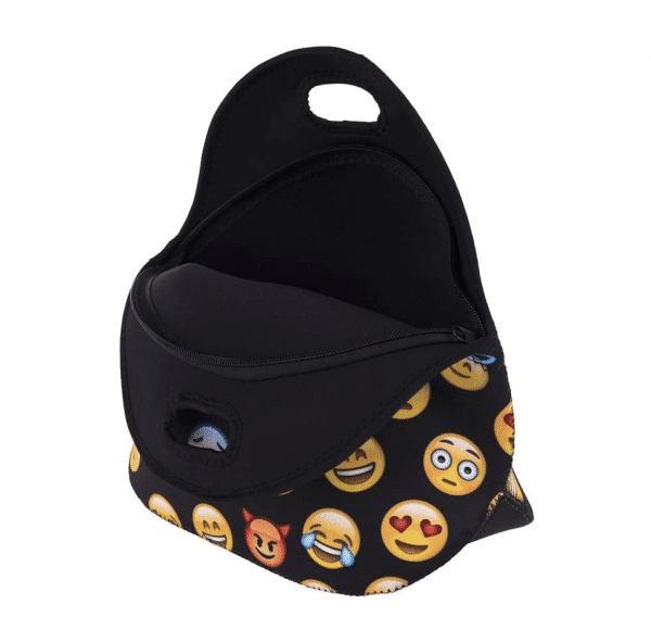 Neoprene Emoji Lunch Bag