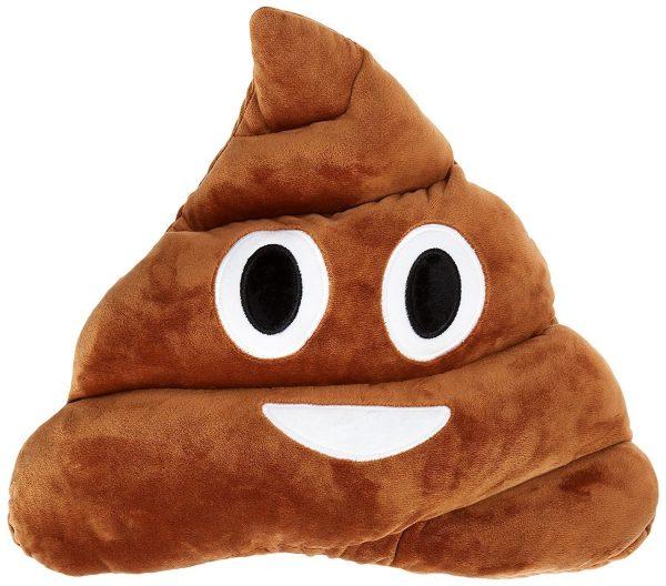 Poop Emoji Plush Pillow