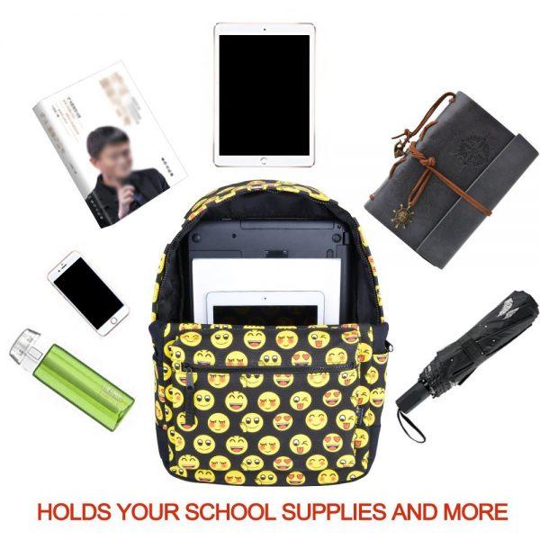 Things in Emoji Backpack