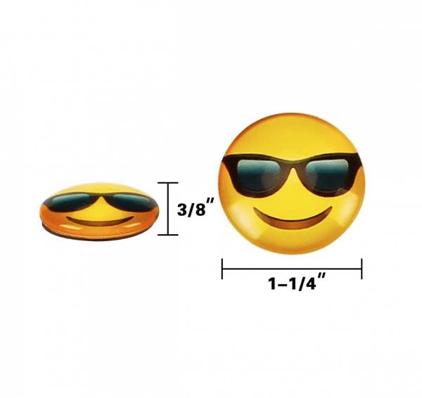 Emoji Magnet Size