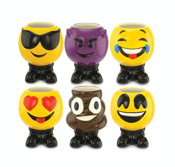 Emoji Shaped Shot Glasses