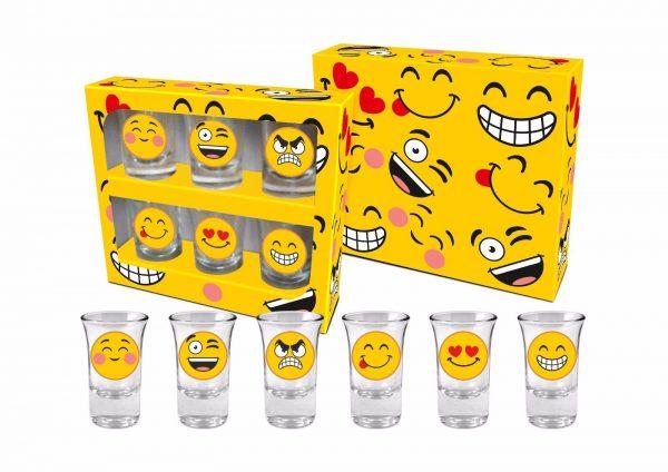 Emoji Shot Glasses
