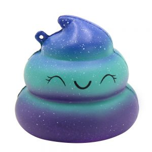 Emoji Stress Relief Rainbow Poop Toy