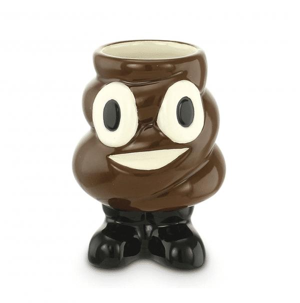 Poop Emoji Shot Glass