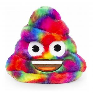 Rainbow Poop Emoji Coin Bank