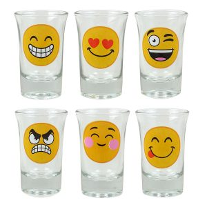 Shot Glasses Emoji Designed