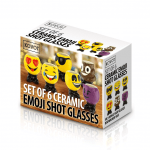 Shot Glasses Emoji Designed