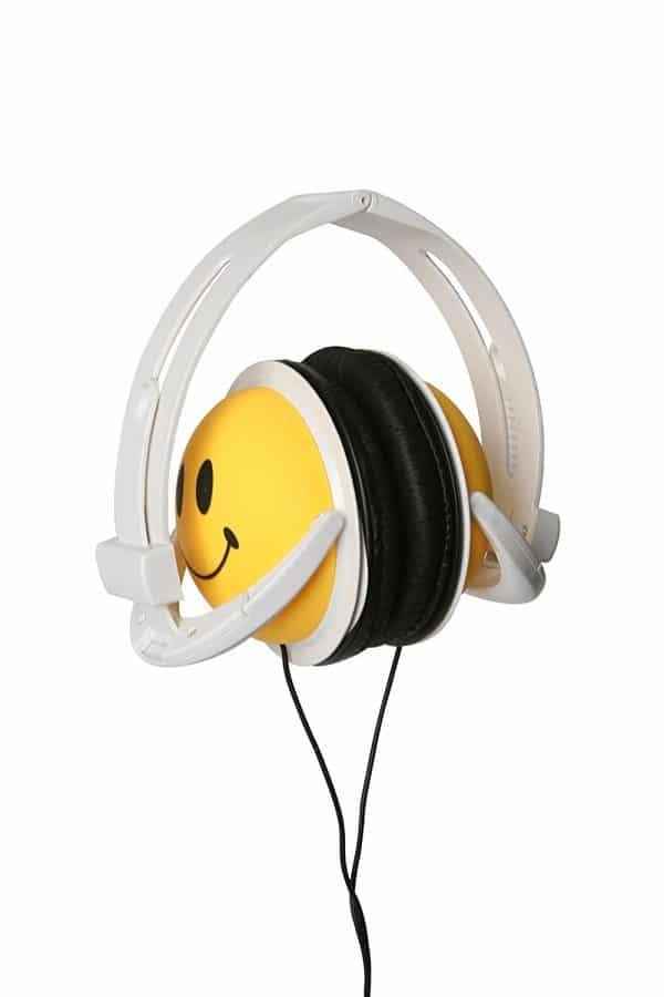 Emoji Smiley Headphone