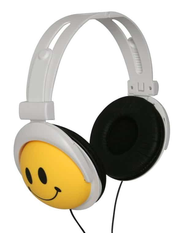 Smiley Emoji Headphone Over the Ear