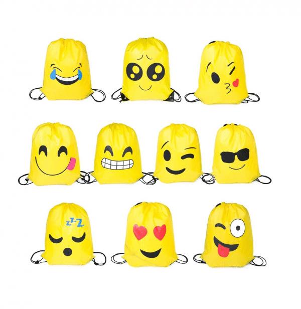 Drawstring Emoji 24 Pack