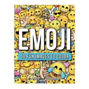 Emoji 50 Images to Color Book