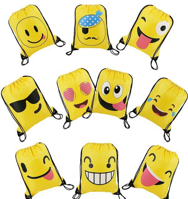 Emoji Drawstring Pack